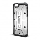 Photo réelle de Coque Antichoc iPhone 6 Urban Armor Gear UAG Maverick Transparent