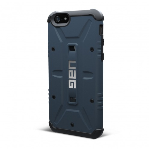 Photo réelle de Coque Antichoc iPhone 6 Urban Armor Gear UAG Aero Bleu
