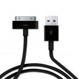 Visuel supplémentaire de Micro chargeur voiture / Allume cigare USB avec Câble data Noir iPhone 3G/S/4/S