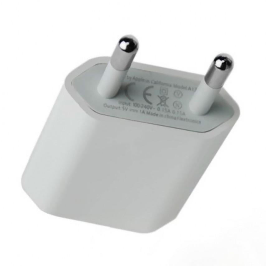 Visuel unique de Chargeur Secteur USB Origine Apple A1400 Blanc