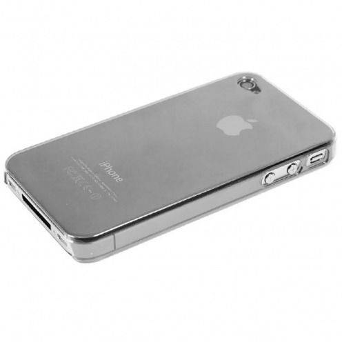 Visuel unique de Coque Crystal iPhone 4S / 4 Transparente