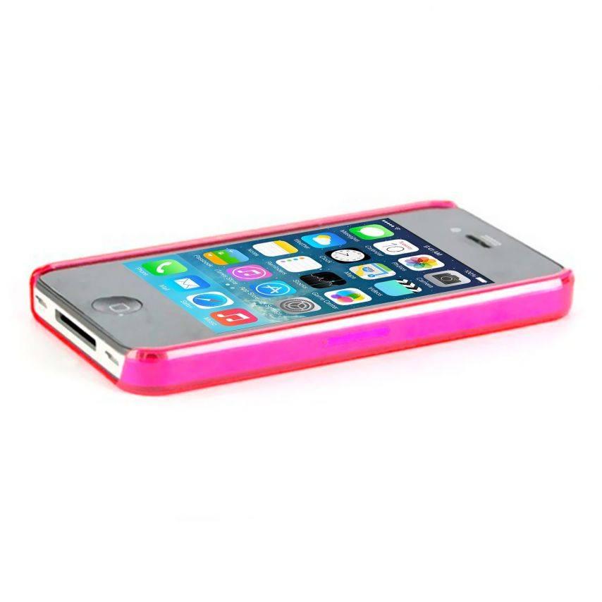 "Visuel supplémentaire de Coque ""Crystal"" iPhone 4S / 4 Rose"