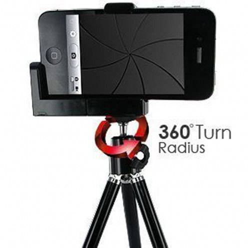 Tripod - Stand Photo / Video pour iPhone 5 / iPhone 4 / 4S / 3G
