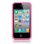 Visuel supplémentaire de Coque Bumper HQ Rose Pour iPhone 4S / 4