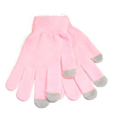 Zoom sur iTouch - Gants tactiles spécial iPhone Rose Taille S