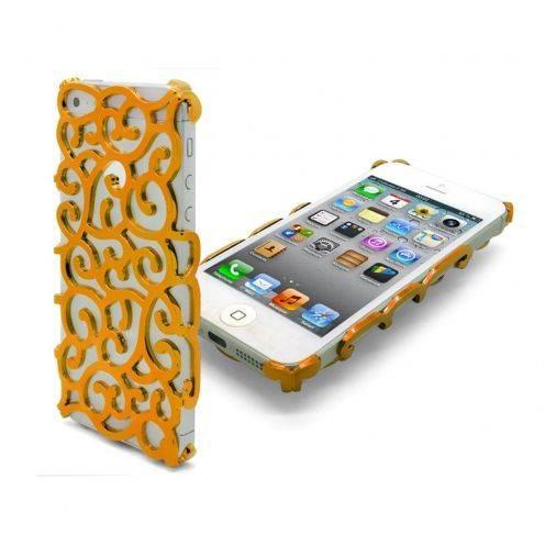 Coque iPhone 5 Rococo Design Dorée