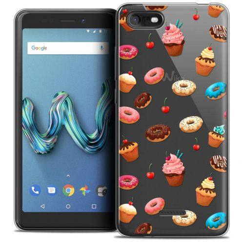 """Coque Crystal Gel Wiko Tommy 3 (5.45"""") Extra Fine Foodie - Donuts"""