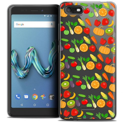 """Coque Crystal Gel Wiko Tommy 3 (5.45"""") Extra Fine Foodie - Healthy"""