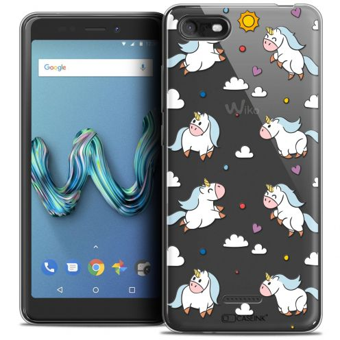 """Coque Crystal Gel Wiko Tommy 3 (5.45"""") Extra Fine Fantasia - Licorne In the Sky"""