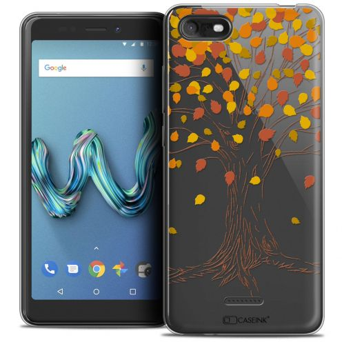 """Coque Crystal Gel Wiko Tommy 3 (5.45"""") Extra Fine Autumn 16 - Tree"""