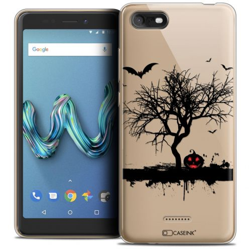 """Coque Crystal Gel Wiko Tommy 3 (5.45"""") Extra Fine Halloween - Devil's Tree"""