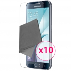 Films de protection Samsung Galaxy S6 Clubcase ® HD Lot de 10