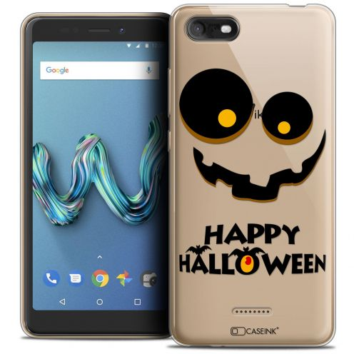"Coque Crystal Gel Wiko Tommy 3 (5.45"") Extra Fine Halloween - Happy"