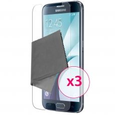 Zoom sur Films de protection Samsung Galaxy S6 Clubcase ® HD Lot de 3