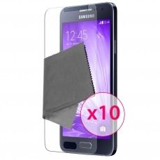 Zoom sur Films de protection Samsung Galaxy A3 Clubcase ® HD Lot de 10