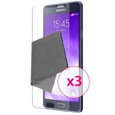 Films de protection Samsung Galaxy A7 Clubcase ® HD Lot de 3