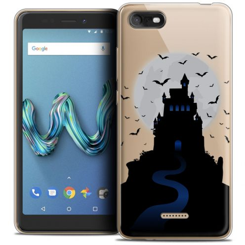 "Coque Crystal Gel Wiko Tommy 3 (5.45"") Extra Fine Halloween - Castle Nightmare"