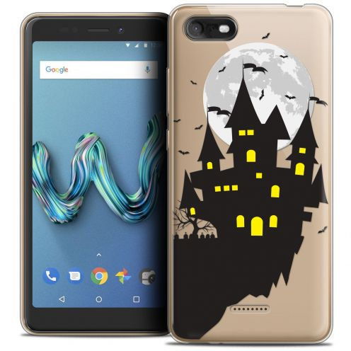 """Coque Crystal Gel Wiko Tommy 3 (5.45"""") Extra Fine Halloween - Castle Dream"""