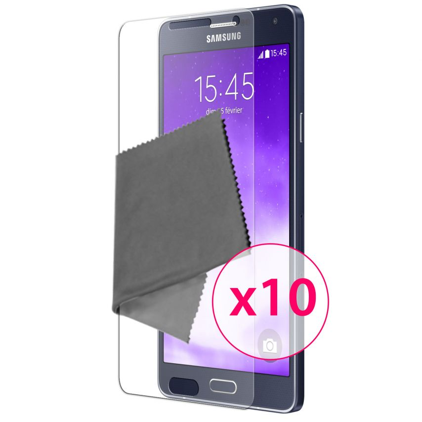 Zoom sur Films de protection Samsung Galaxy A7 Clubcase ® HD Lot de 10
