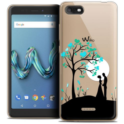 """Coque Crystal Gel Wiko Tommy 3 (5.45"""") Extra Fine Love - Sous l'arbre"""