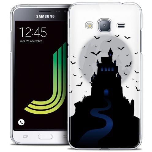Coque Crystal Samsung Galaxy J3 2016 (J320) Extra Fine Halloween - Castle Nightmare