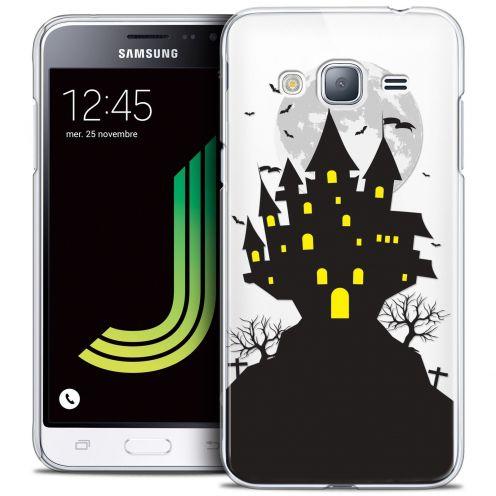 Coque Crystal Samsung Galaxy J3 2016 (J320) Extra Fine Halloween - Castle Scream