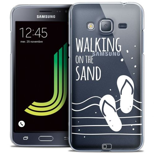 Coque Crystal Samsung Galaxy J3 2016 (J320) Extra Fine Summer - Walking on the Sand