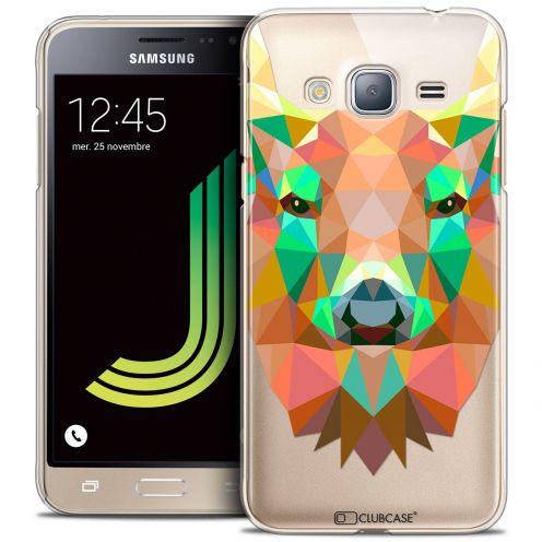 Coque Crystal Samsung Galaxy J3 2016 (J320) Extra Fine Polygon Animals - Cerf