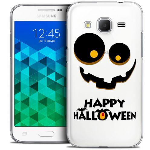 Coque Crystal Samsung Galaxy Core Prime (G360) Extra Fine Halloween - Happy