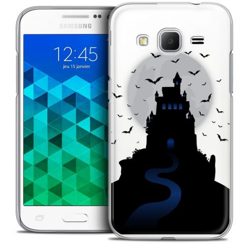 Coque Crystal Samsung Galaxy Core Prime (G360) Extra Fine Halloween - Castle Nightmare