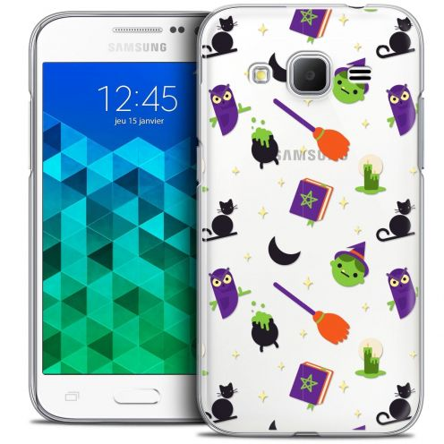 Coque Crystal Samsung Galaxy Core Prime (G360) Extra Fine Halloween - Witch Potter