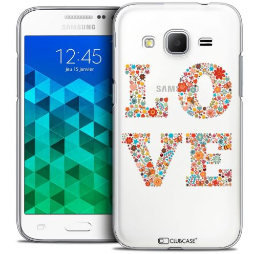 Coque Crystal Samsung Galaxy Core Prime (G360) Extra Fine Summer - Love Flowers