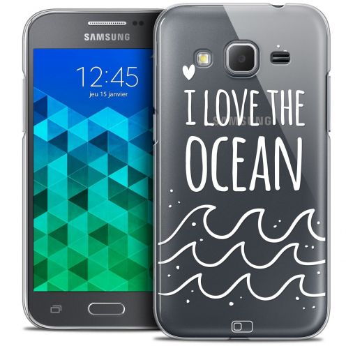 Coque Crystal Samsung Galaxy Core Prime (G360) Extra Fine Summer - I Love Ocean