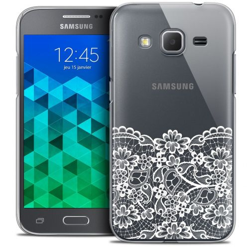 Coque Crystal Samsung Galaxy Core Prime (G360) Extra Fine Spring - Bas dentelle