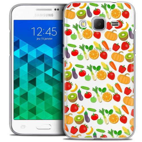 Coque Crystal Samsung Galaxy Core Prime (G360) Extra Fine Foodie - Healthy