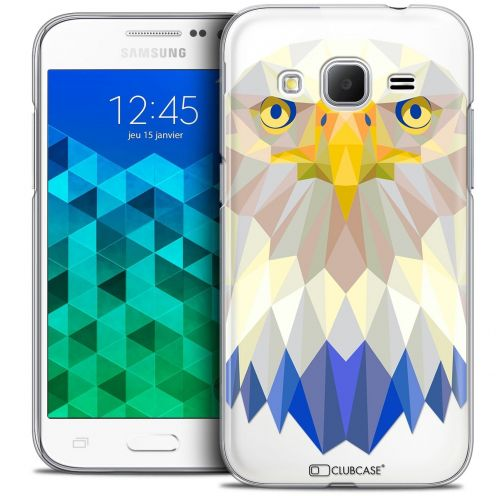 Coque Crystal Samsung Galaxy Core Prime (G360) Extra Fine Polygon Animals - Aigle
