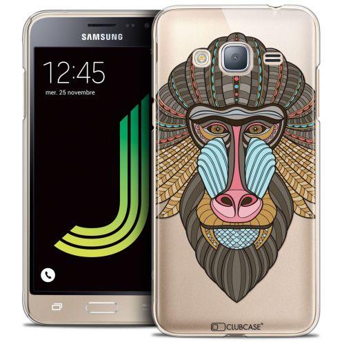 Coque Crystal Rigide Samsung Galaxy J3 2016 (J320) Extra Fine Summer - Babouin