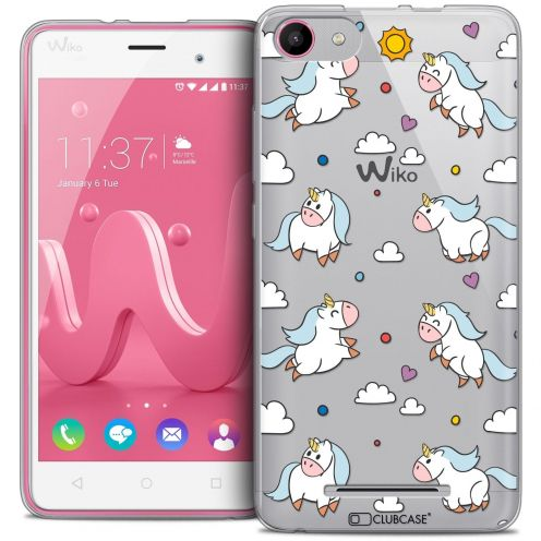 Coque Crystal Gel Wiko Jerry Extra Fine Fantasia - Licorne In the Sky