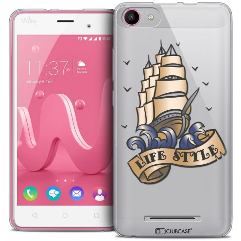 Coque Crystal Gel Wiko Jerry Extra Fine Tatoo Lover - Life Style