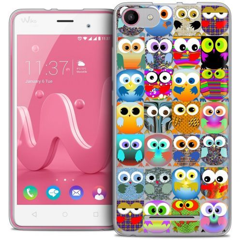 Coque Crystal Gel Wiko Jerry Extra Fine Claude - Hibous