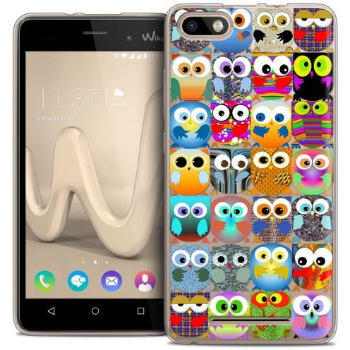 Coque Crystal Gel Wiko Lenny 3 Extra Fine Claude - Hibous