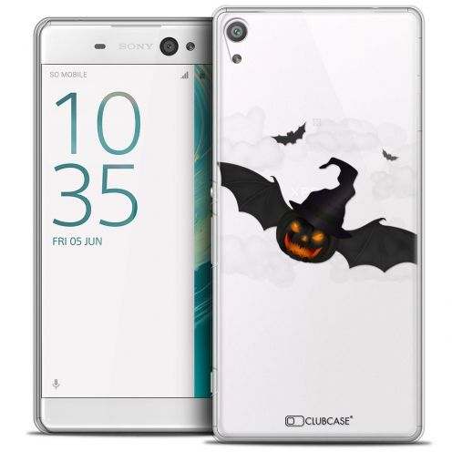 "Coque Crystal Sony Xperia XA 5"" Extra Fine Halloween - Chauve Citrouille"