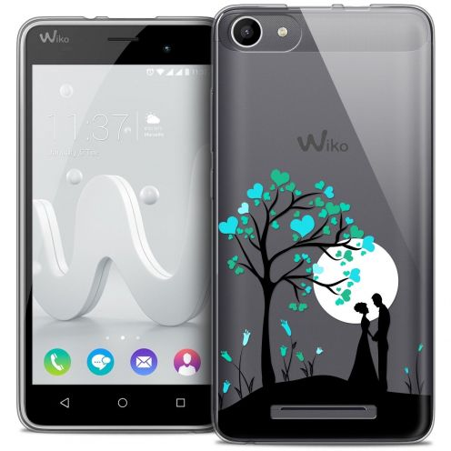 Coque Crystal Gel Wiko Jerry Extra Fine Love - Sous l'arbre