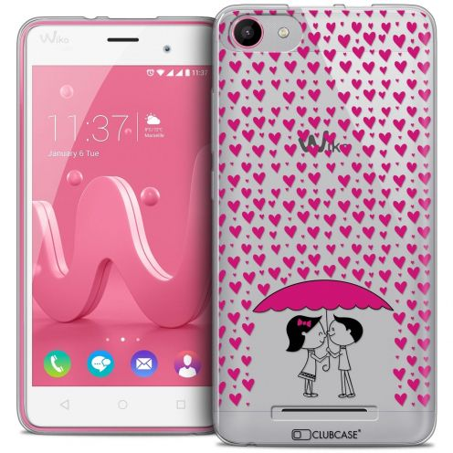Coque Crystal Gel Wiko Jerry Extra Fine Love - Pluie d'Amour