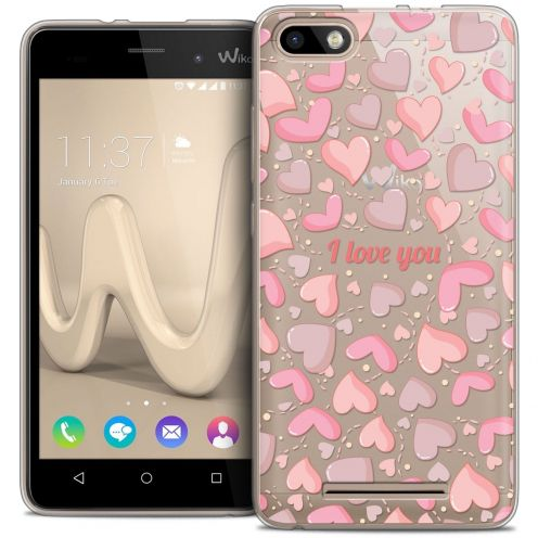 Coque Crystal Gel Wiko Lenny 3 Extra Fine Love - I Love You