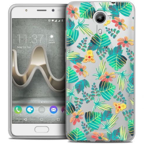 Coque Crystal Gel Wiko U Feel PRIME Extra Fine Spring - Tropical