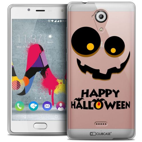 Coque Crystal Gel Wiko U Feel LITE Extra Fine Halloween - Happy