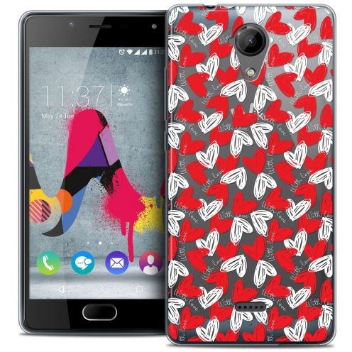 Coque Crystal Gel Wiko U Feel LITE Extra Fine Love - With Love