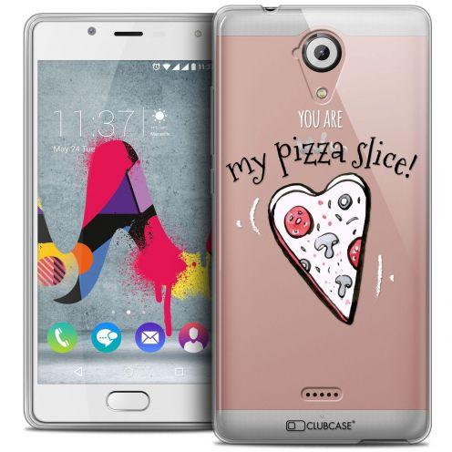 Coque Crystal Gel Wiko U Feel LITE Extra Fine Love - My Pizza Slice