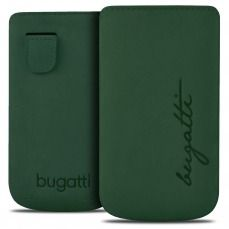 Etui Pouch Bugatti® Perfect Velvety Cypress Cuir Véritable - Taille M